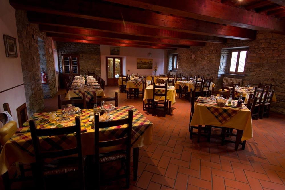 Agriturismo per bambini Arezzo - La Collina delle Stelle, ristorante