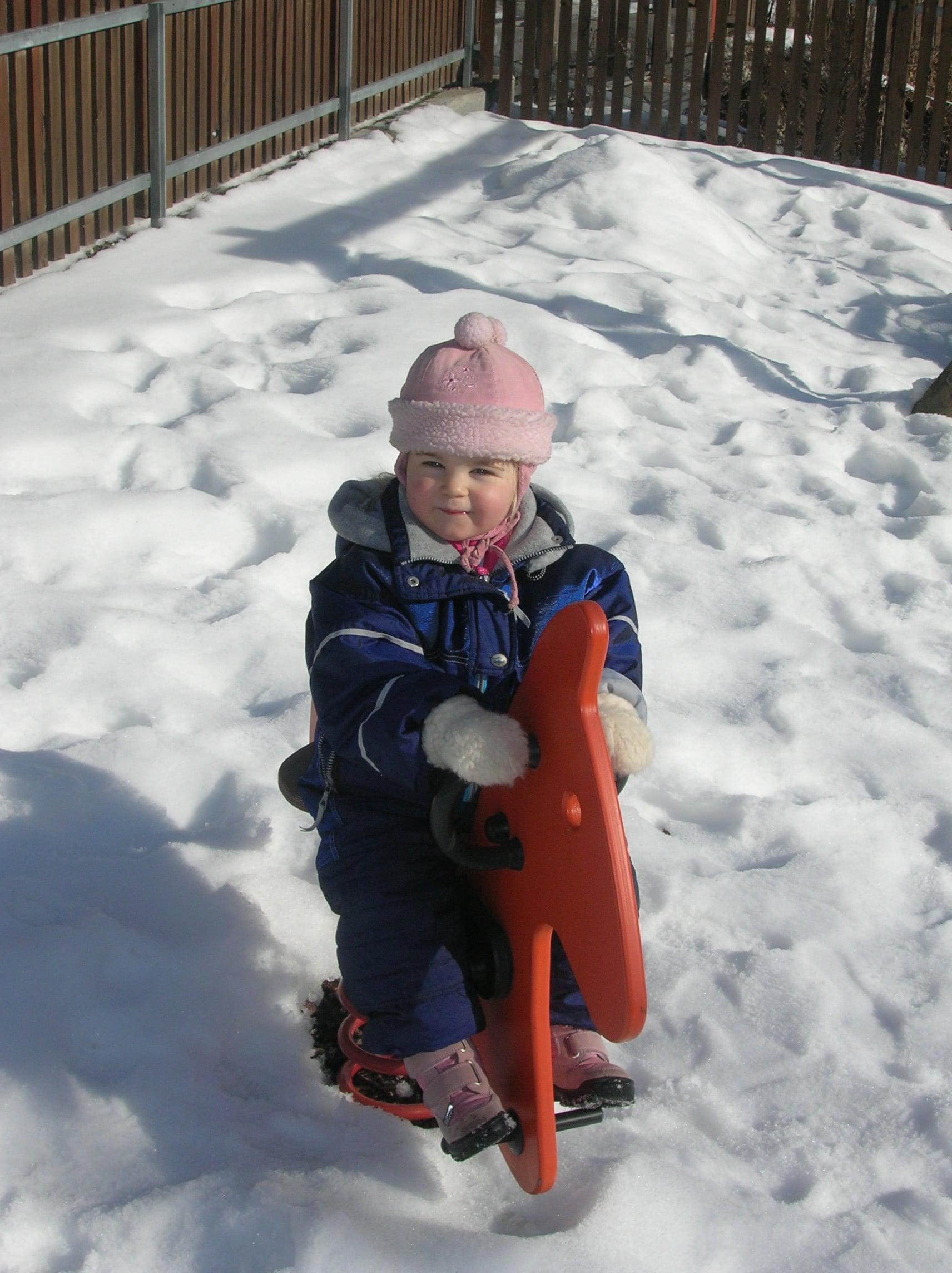 Agriturismo Alto Adige bambini - Residence fattoria Obermoarhof, in inverno