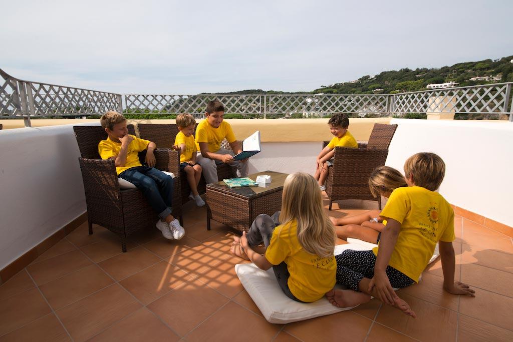 Hotel per bambini a Ischia: Family Hotel & Spa Le Canne, terrazza