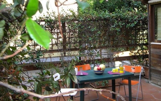 Alla casetta di Roma, casa vacanze per famiglie, esterno