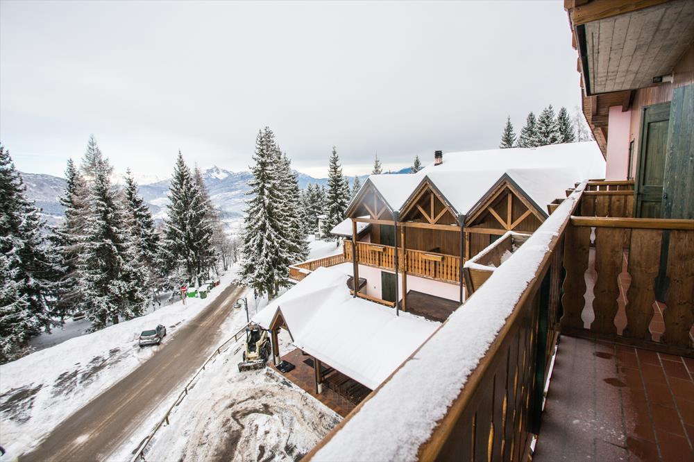 Monte Baldo hotel per bambini: Family hotel La Betulla, inverno
