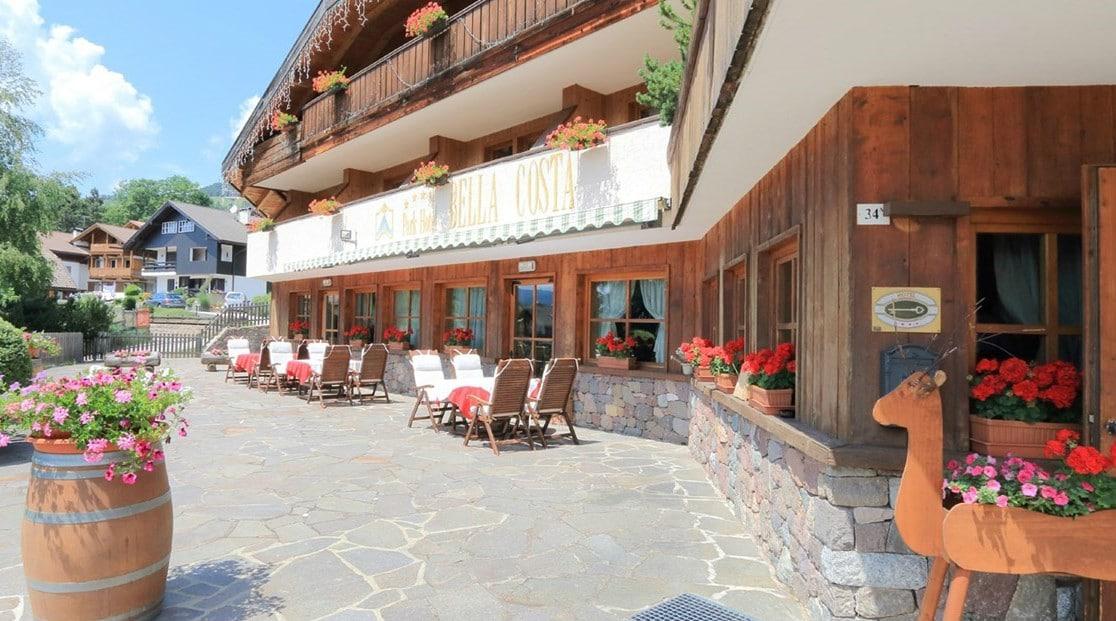 Family Hotel a Cavalese, Hotel Bellacosta, esterno