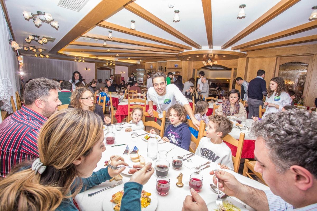 Monte Baldo hotel per bambini: Family hotel La Betulla, ristorante