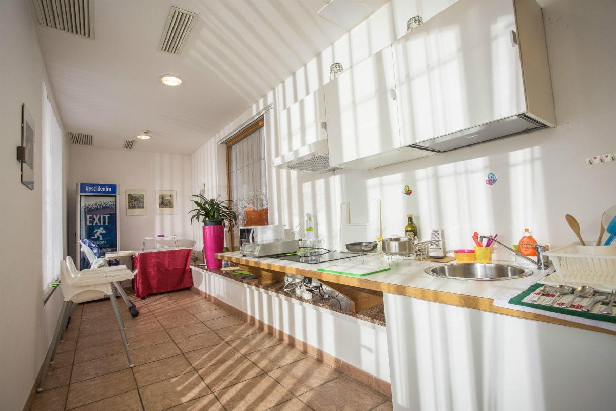 Monte Baldo hotel per bambini: Family hotel La Betulla, area mamme
