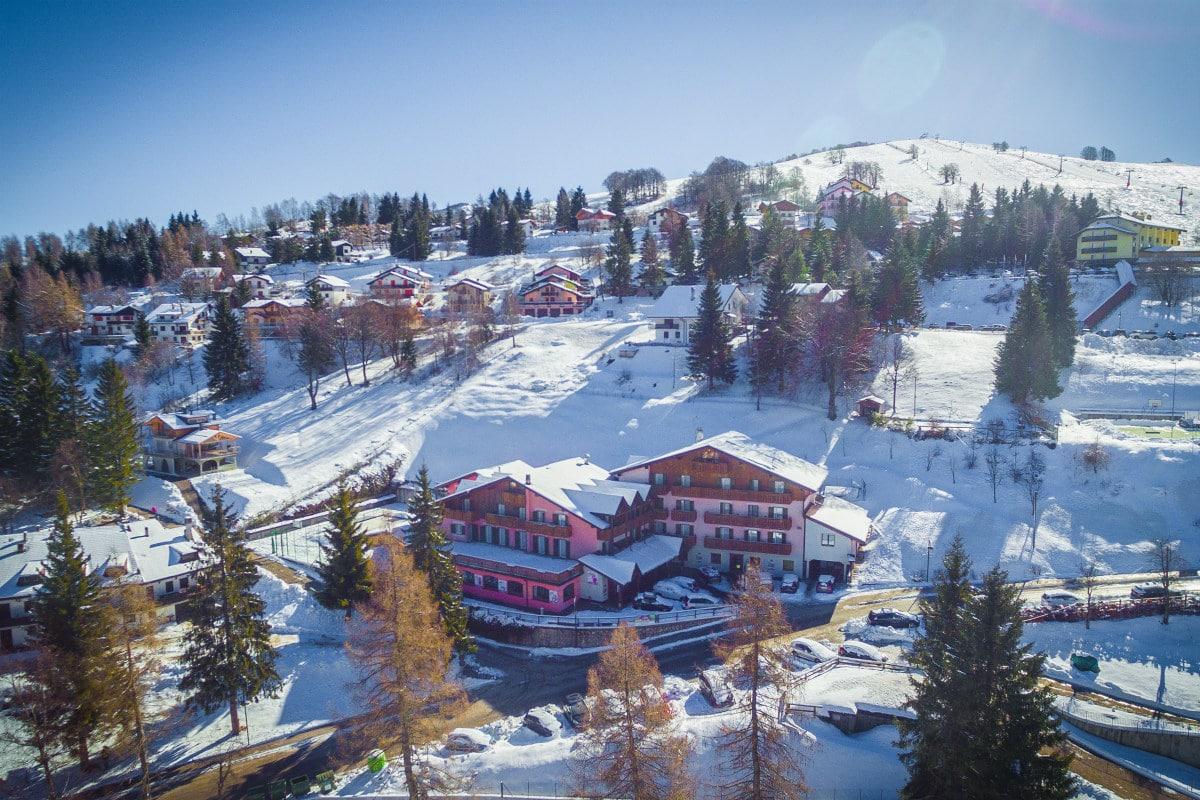 Monte Baldo hotel per bambini: Family hotel La Betulla
