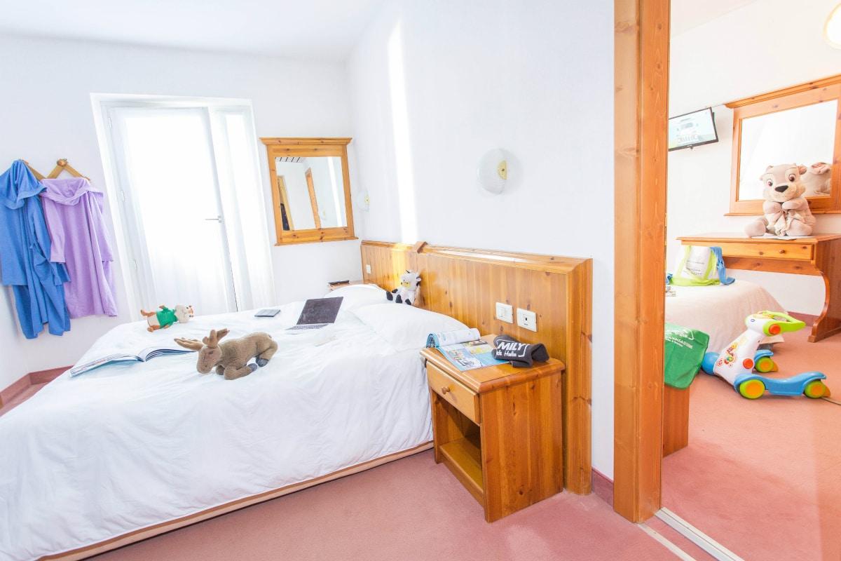 Monte Baldo hotel per bambini: Family hotel La Betulla, family room