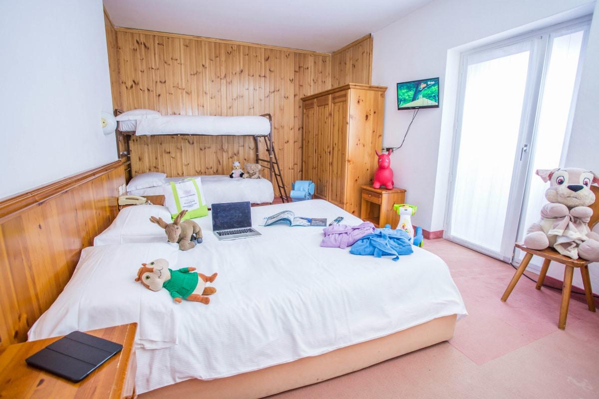 Monte Baldo hotel per bambini: Family hotel La Betulla, matrimoniale