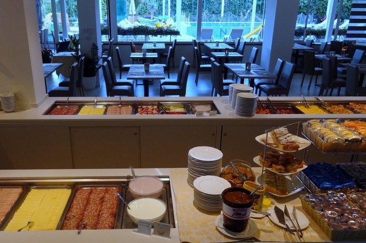 Family Hotel a Jesolo sul mare: Hotel Nettuno, buffet
