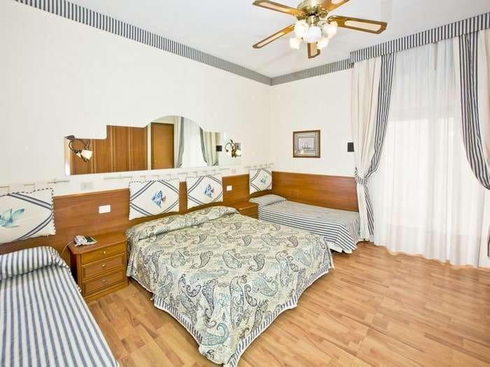 Family Hotel a Jesolo sul mare: Hotel Nettuno, camera