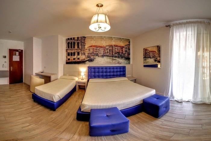 Family Hotel a Jesolo sul mare: Hotel Nettuno, camera venezia