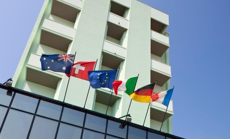 Hotel nelle Marche per famiglie Hotel San Marco, facciata