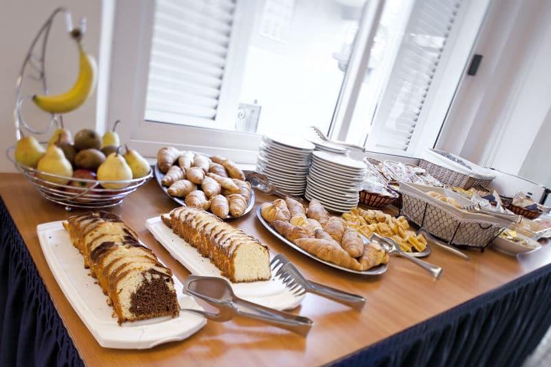 Hotel nelle Marche per famiglie Hotel San Marco, colazione