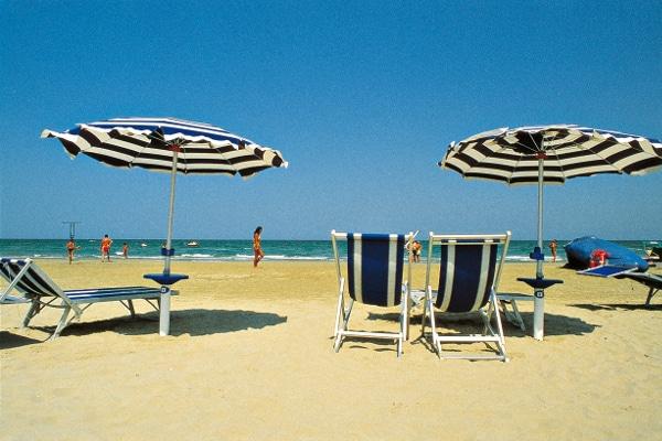 Hotel nelle Marche per famiglie Hotel San Marco, spiaggia