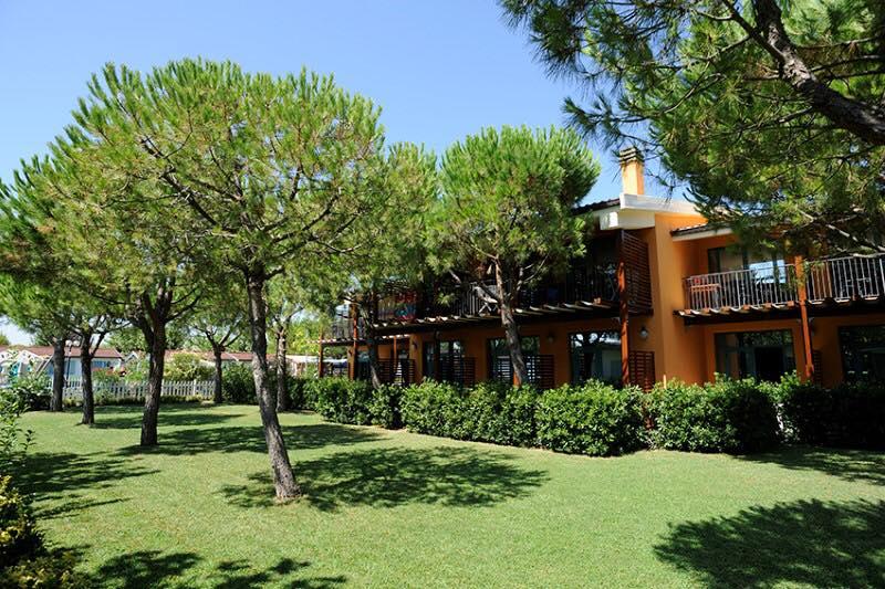 Villaggio a Numana per famiglie, Centro Vacanze De Angelis, abitazioni