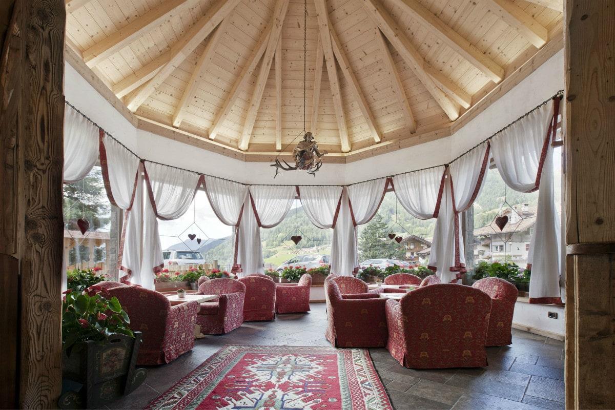 Hotel per bambini in Val di Fassa: Dolce Casa, bar torretta