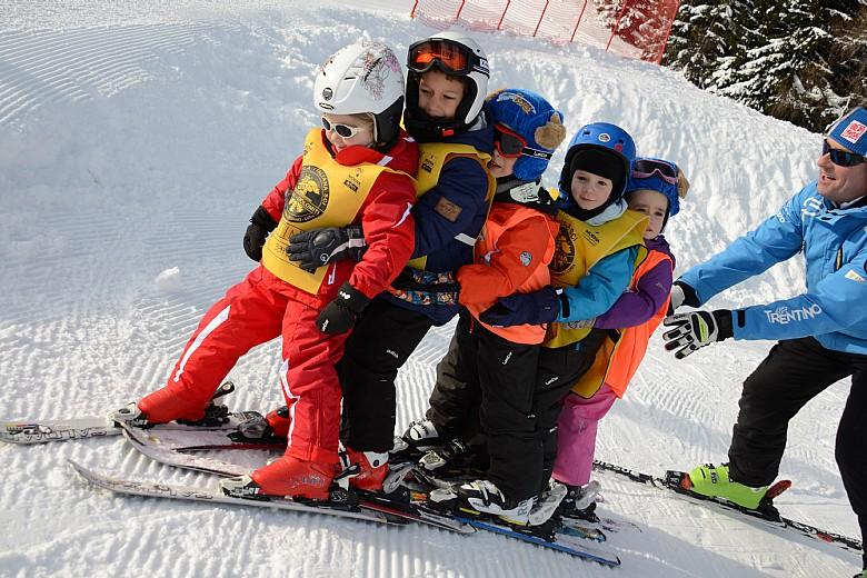 Hotel per bambini in Val di Fassa: Dolce Casa, scuola sci