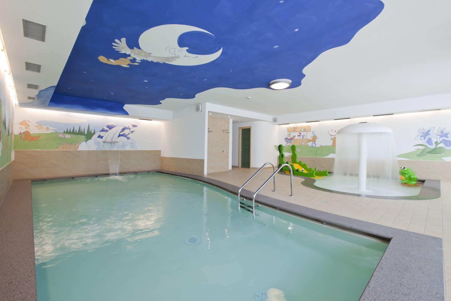 Hotel per bambini in Val di Fassa: Dolce Casa, piscine bimbi