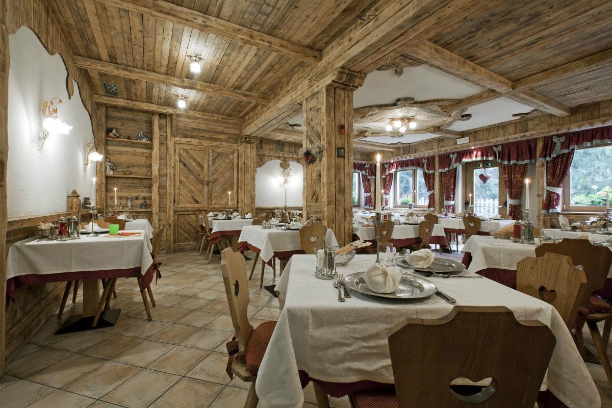 Hotel per bambini in Val di Fassa: Dolce Casa, ristorante baita