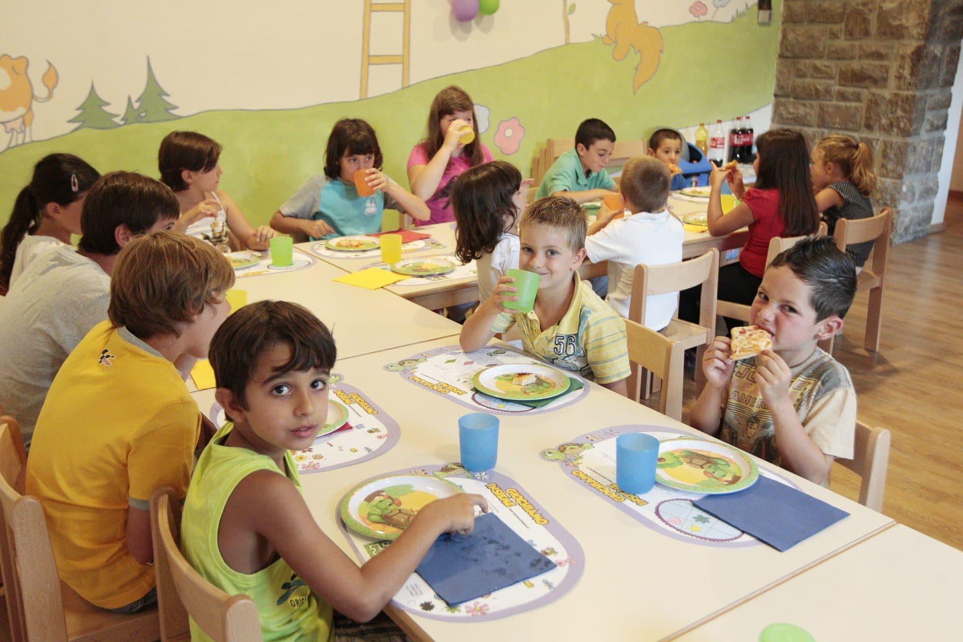 Hotel per bambini in Val di Fassa: Dolce Casa, ristorante bimbi