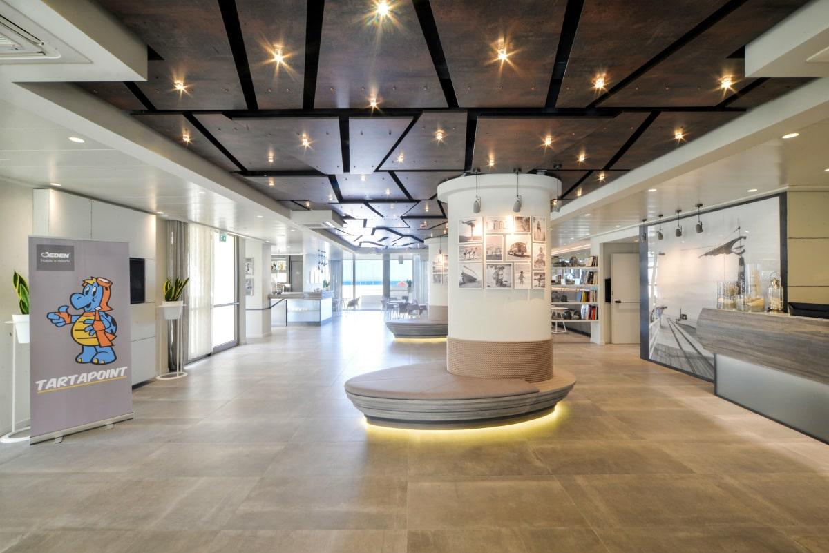 Hotel a Pesaro per famiglie - Family Hotel Nautilus Eden, hall