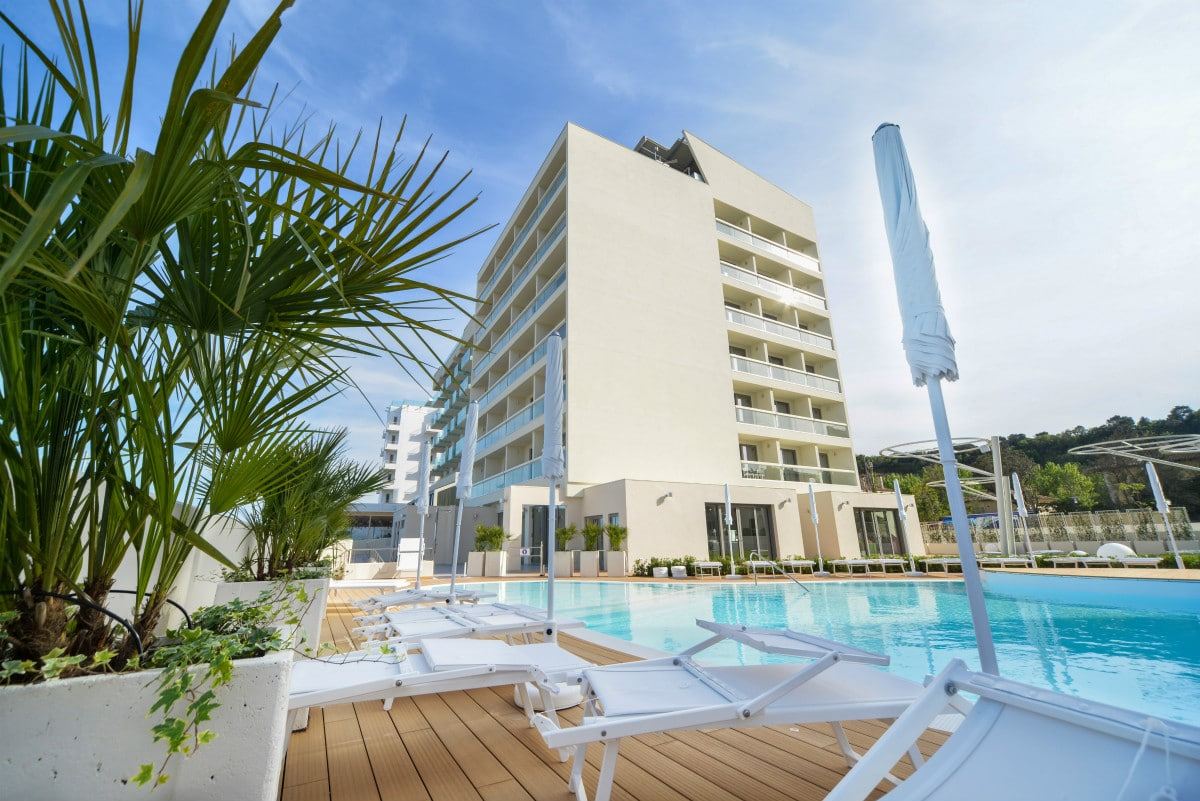 Hotel a Pesaro per famiglie - Family Hotel Nautilus Eden, , esterno