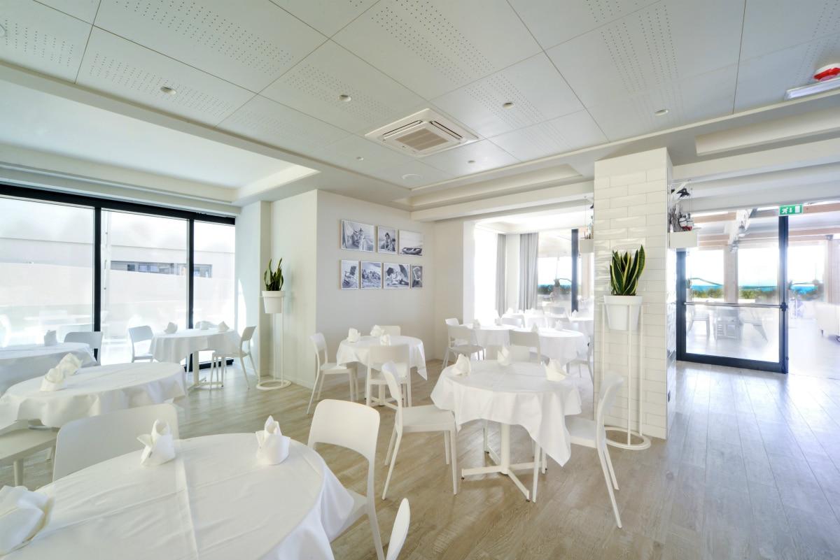 Hotel a Pesaro per famiglie - Family Hotel Nautilus Eden, ristorante