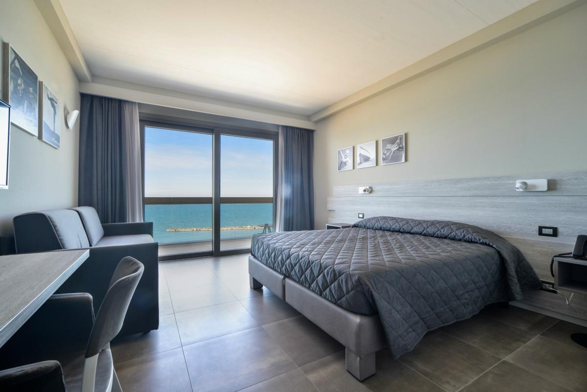 Hotel a Pesaro per famiglie - Family Hotel Nautilus Eden, superior quadrupla