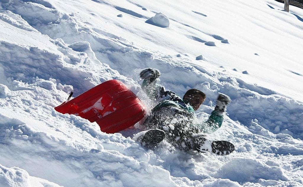 Baite in Piemonte per vacanze: Borgata Sagna Rotonda, neve