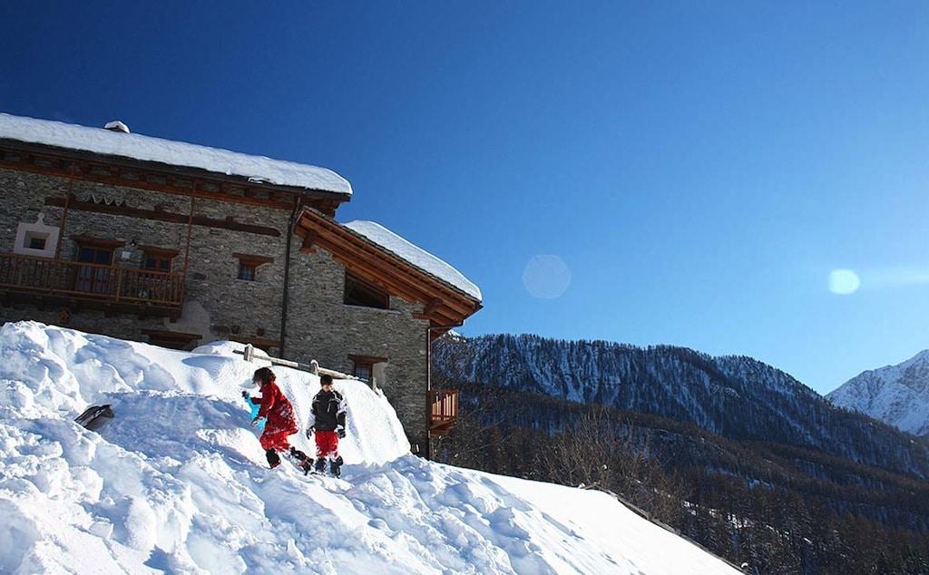 Baite in Piemonte per vacanze: Borgata Sagna Rotonda, inverno