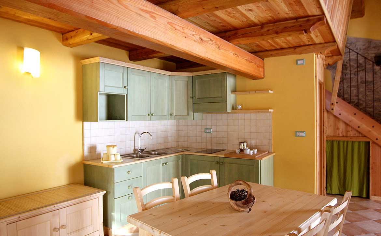 Baite in Piemonte per vacanze: Borgata Sagna Rotonda, interni