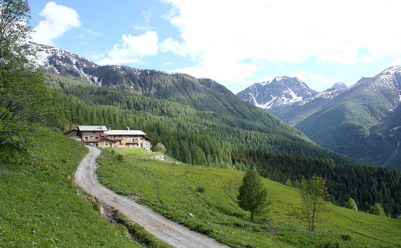 Baite in Piemonte per vacanze: Borgata Sagna Rotonda
