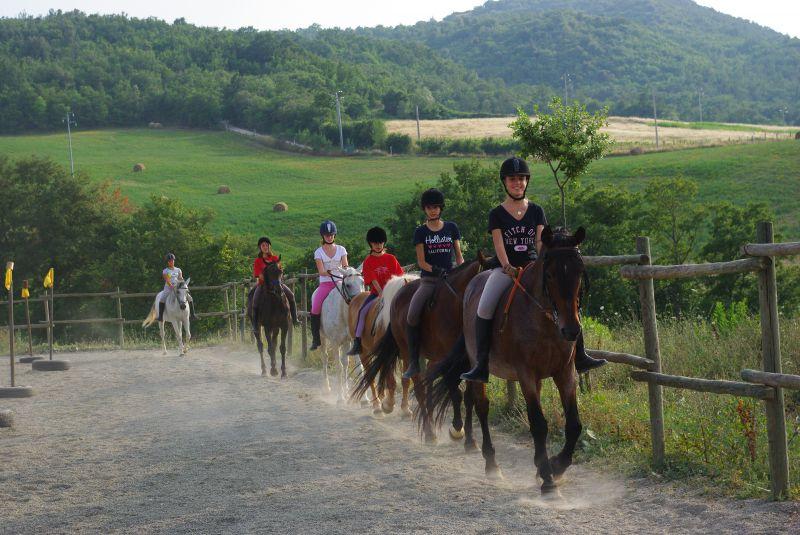 Agriturismo con maneggio Siena, Podere Tremulini, equitazione