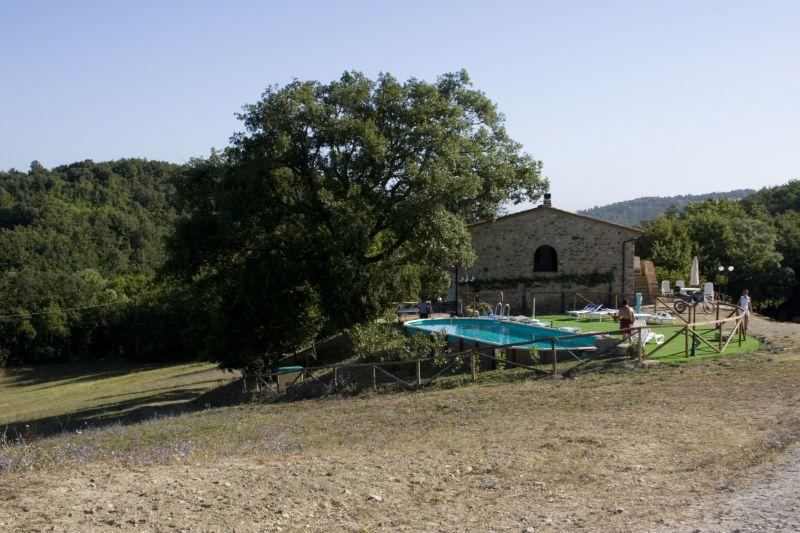 Agriturismo con maneggio Siena, Podere Tremulini, piscina
