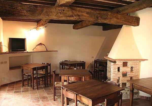 Agriturismo con maneggio Siena, Podere Tremulini, salone