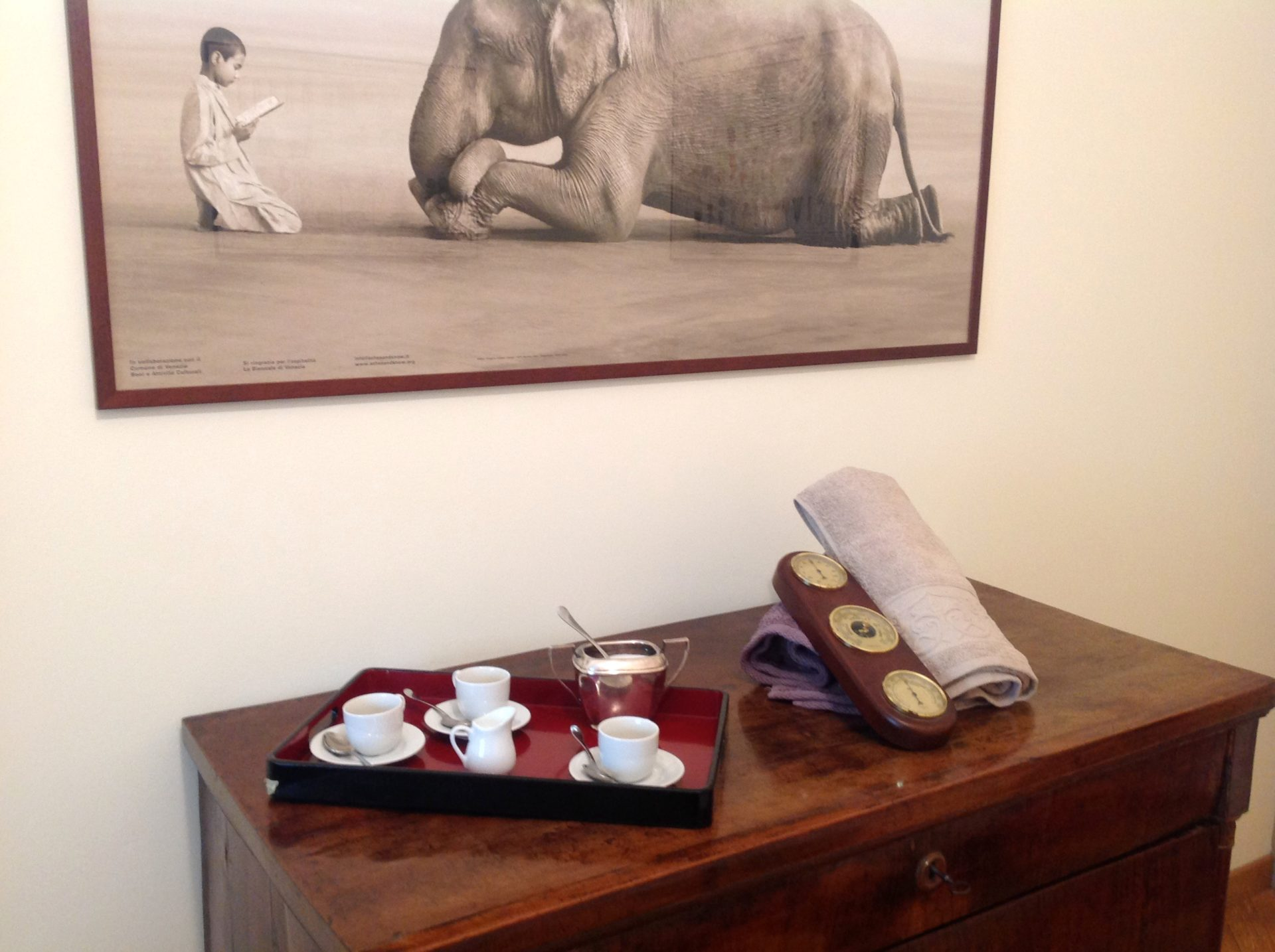 Appartamento per vacanze a Milano, Le stanze di Alice, accessori