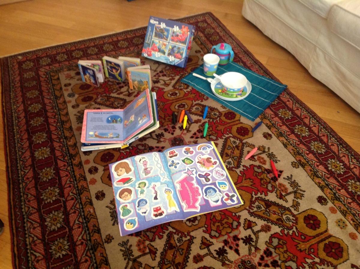 Appartamento per vacanze a Milano, Le stanze di Alice, giochi bimbi