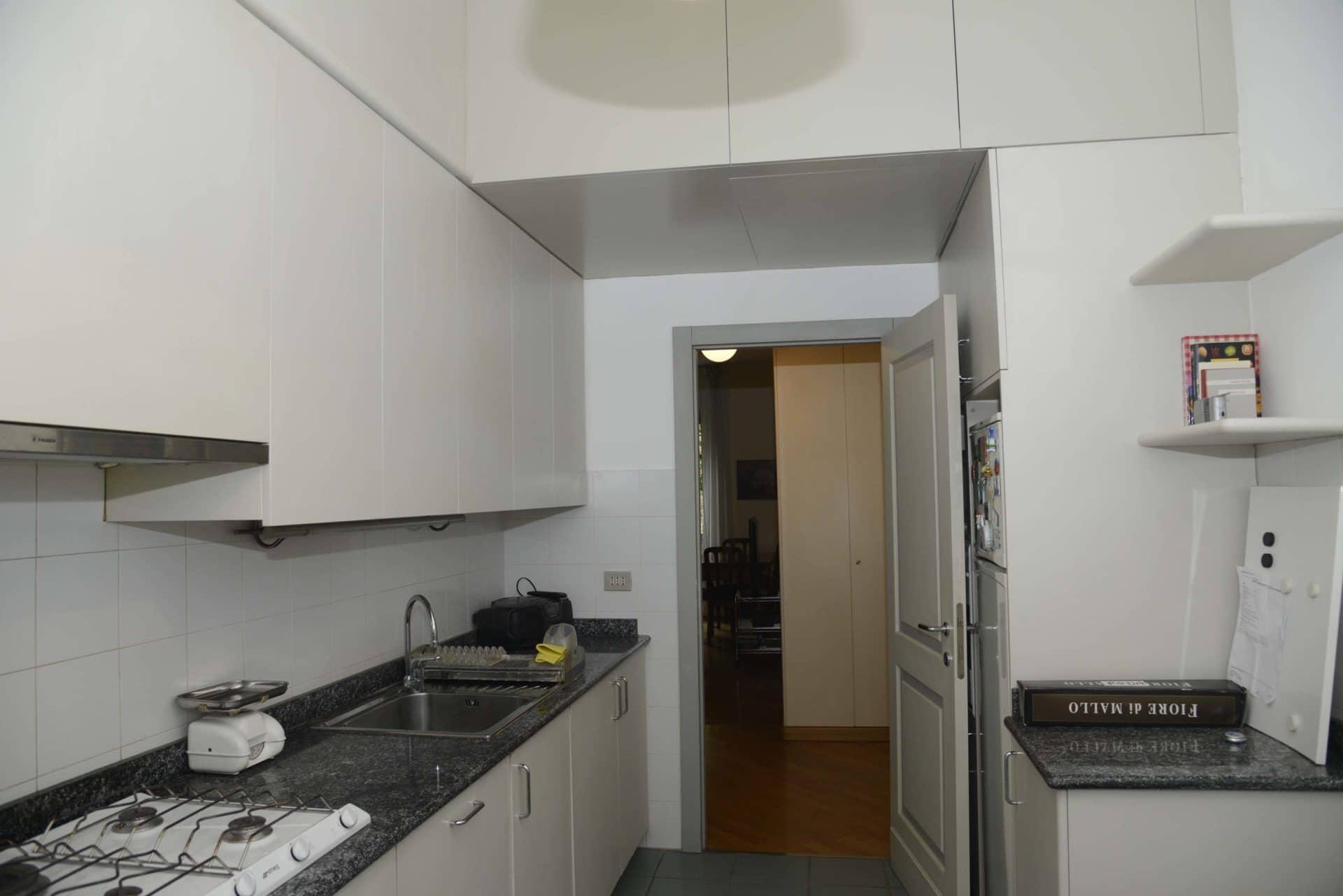 Appartamento per vacanze a Milano, Le stanze di Alice, cucina