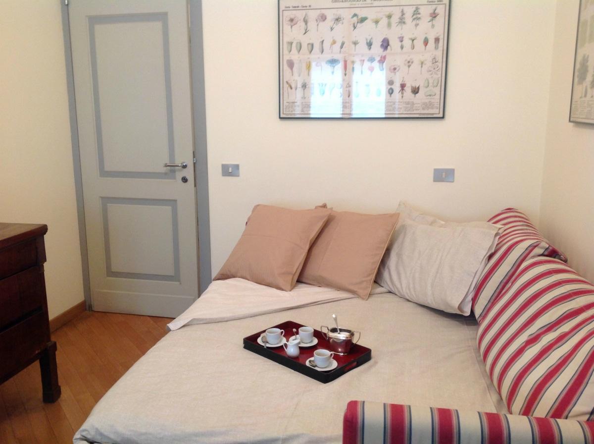 Appartamento per vacanze a Milano, Le stanze di Alice, divano letto