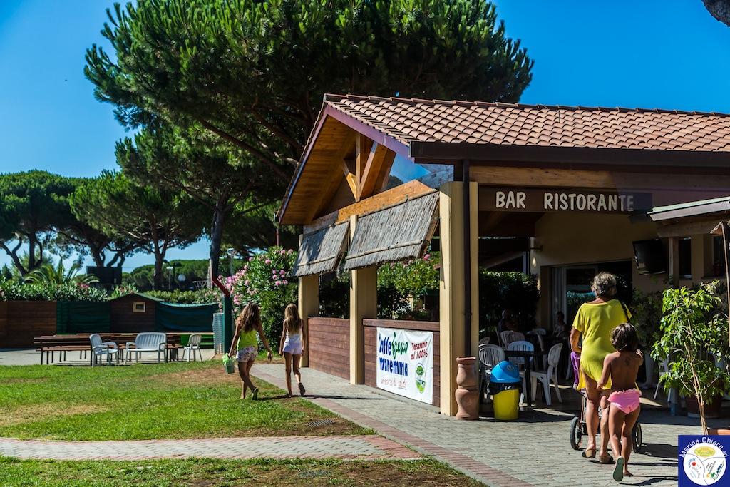 Villaggi Toscana mare per bambini: Camping Village Marina Chiara, bar
