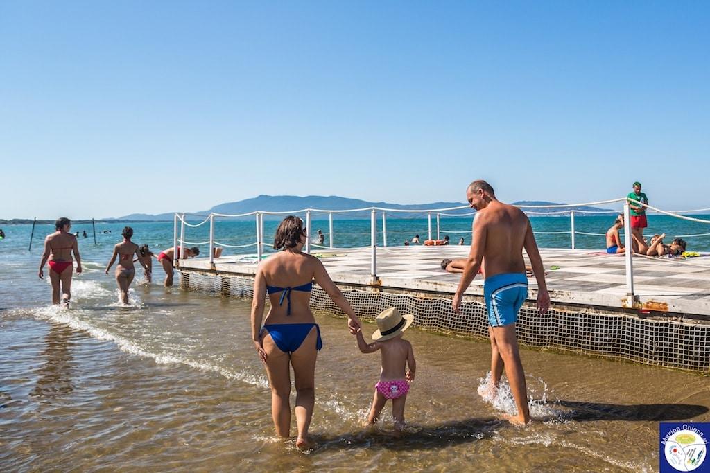 Villaggi Toscana mare per bambini: Camping Village Marina Chiara, spiaggia