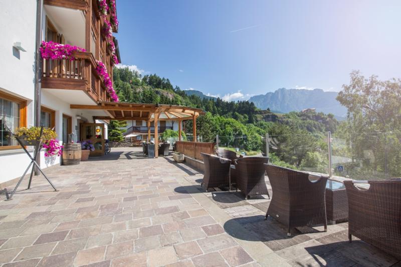 Hotel La Roccia Trentino, Val di Fiemme, terrazza panoramica