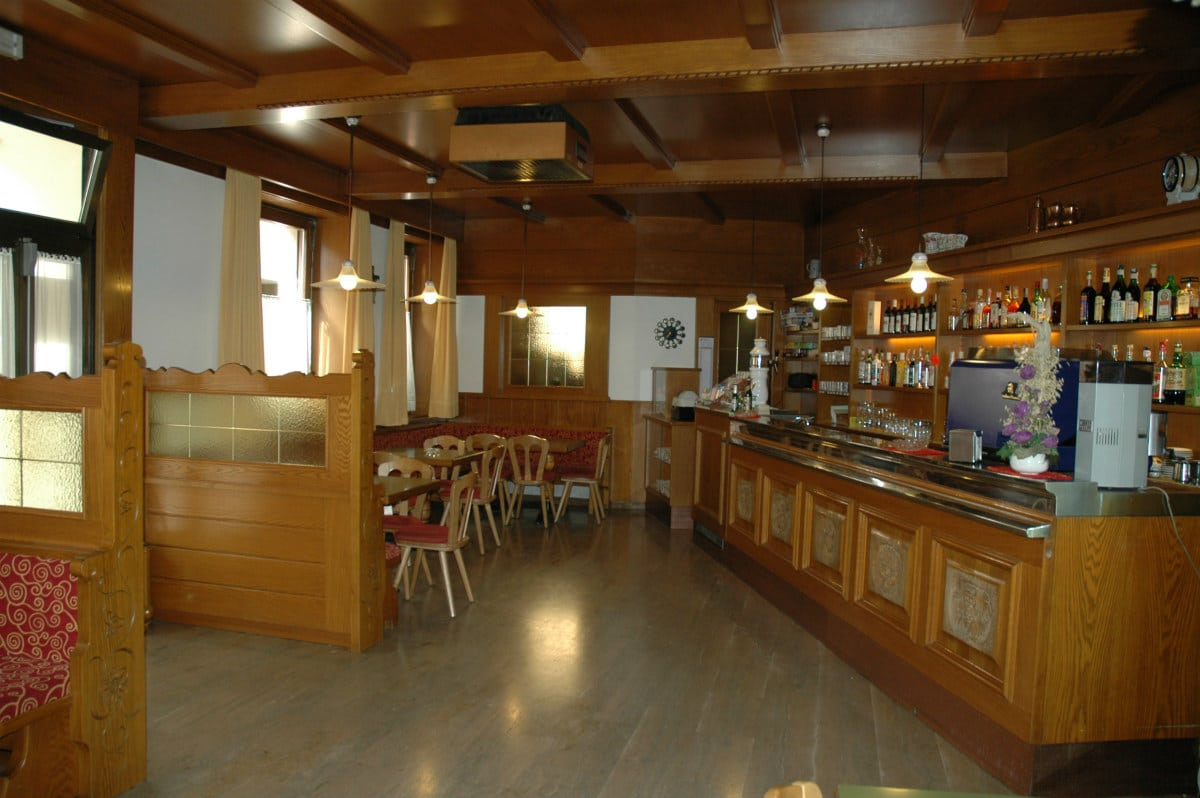 Hotel per famiglie in Val di Fiemme, Albergo al Cervo a Tesero, bar