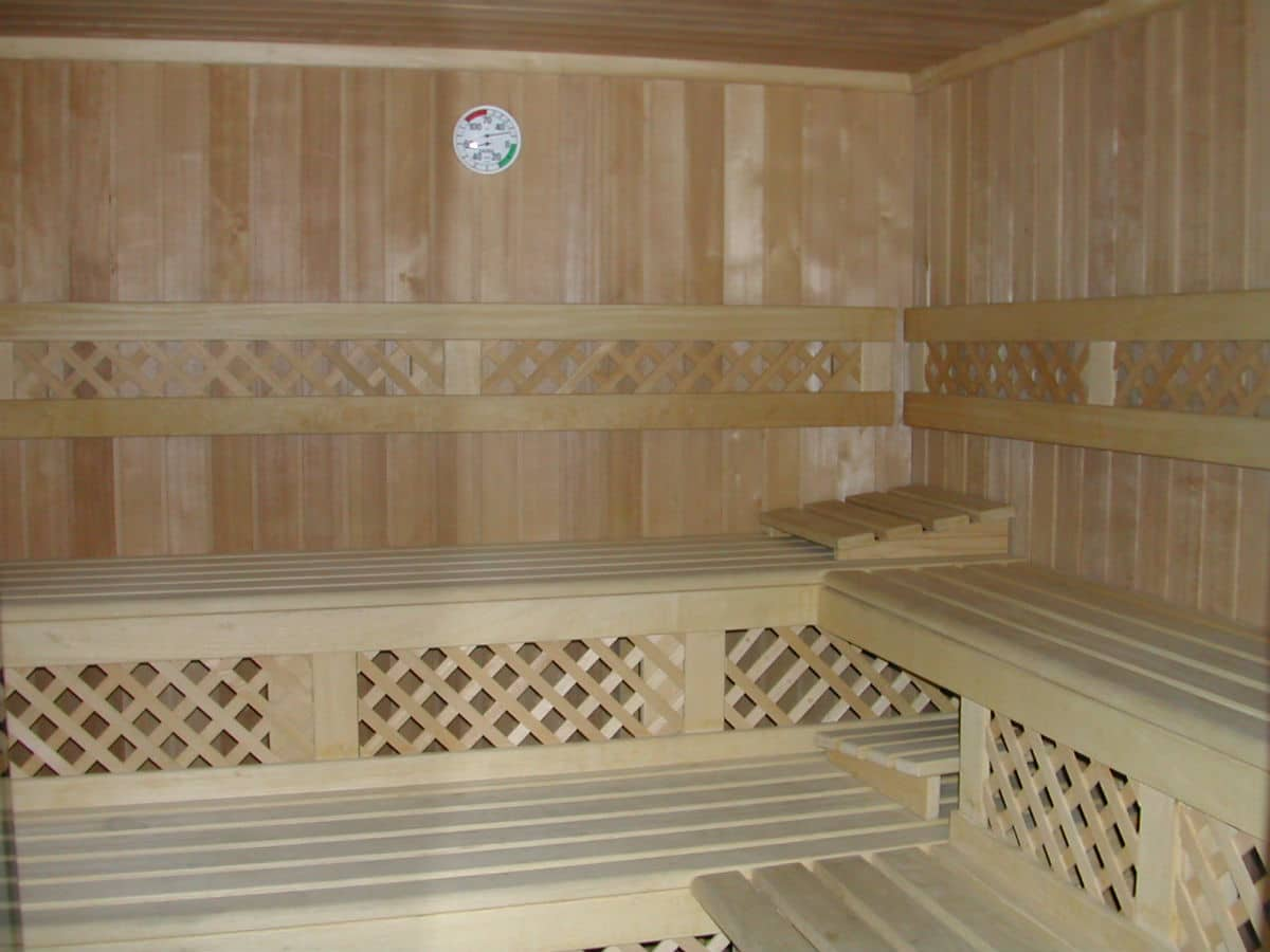 Hotel per famiglie in Val di Fiemme, Albergo al Cervo a Tesero, sauna