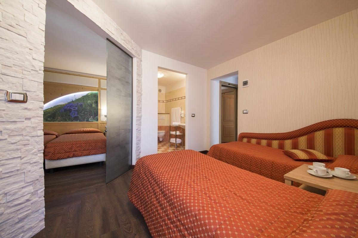 Hotel a Predazzo per famiglie - Hotel Touring, suite family