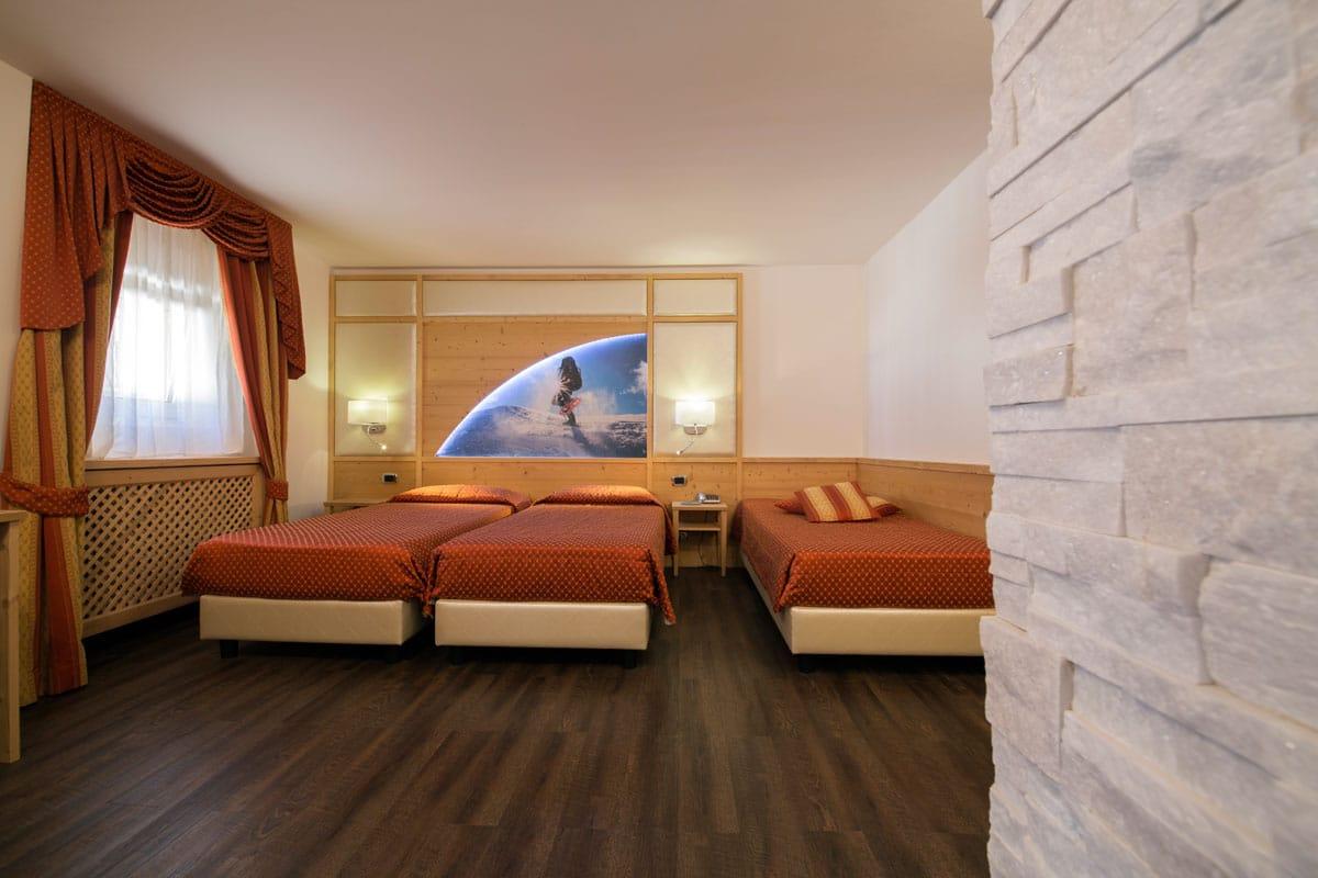 Hotel a Predazzo per famiglie - Hotel Touring, camera prestige
