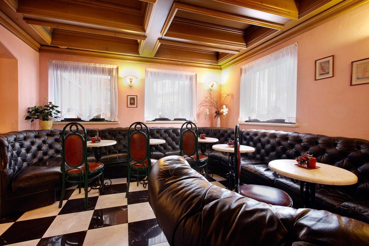 Hotel a Predazzo per famiglie - Hotel Touring, salotto