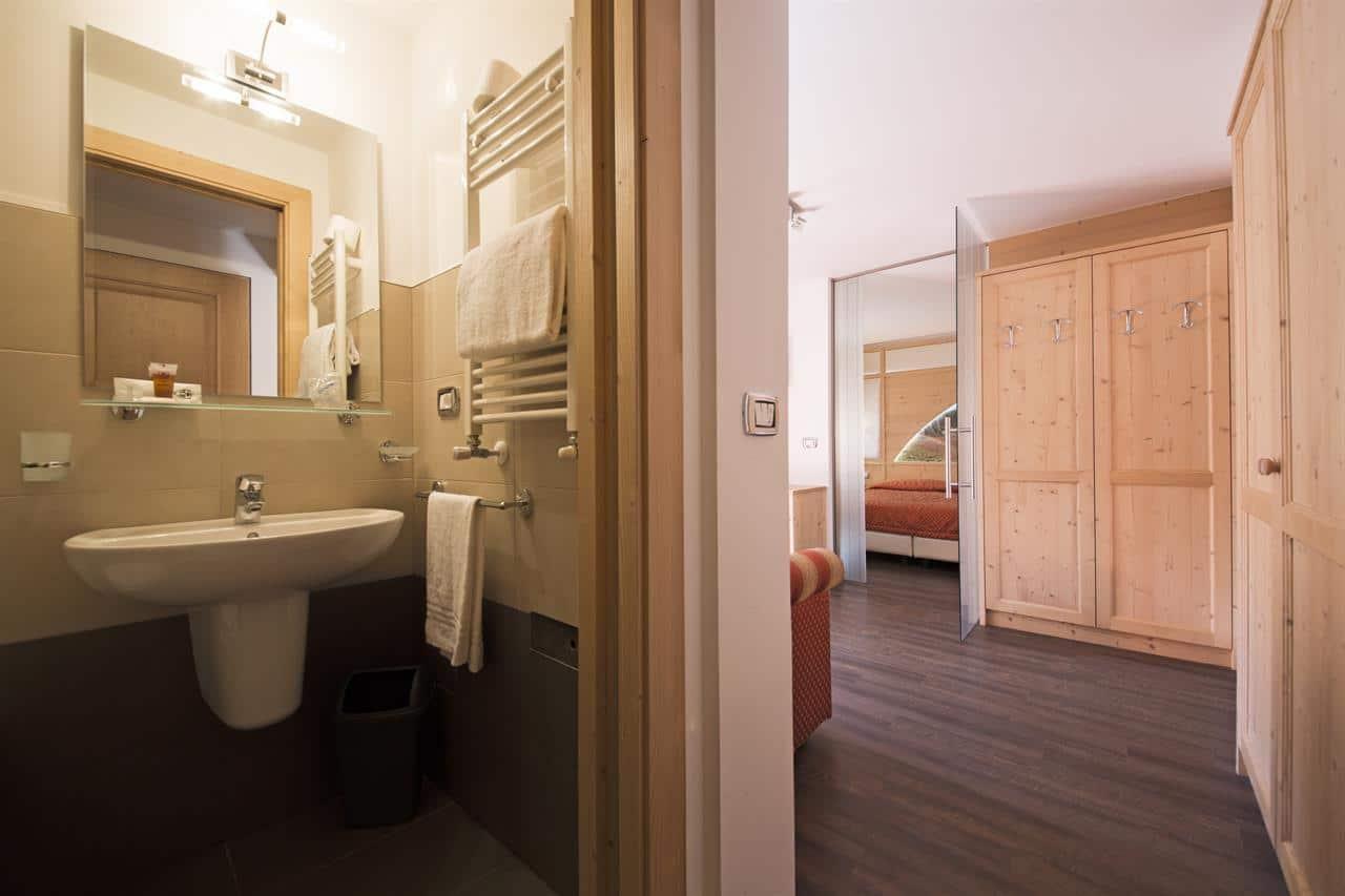 Hotel a Predazzo per famiglie - Hotel Touring, bagno