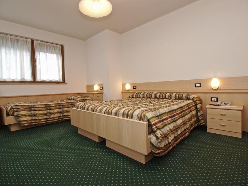 Hotel in Val di Fiemme per famiglie, Hotel La Montanara camera
