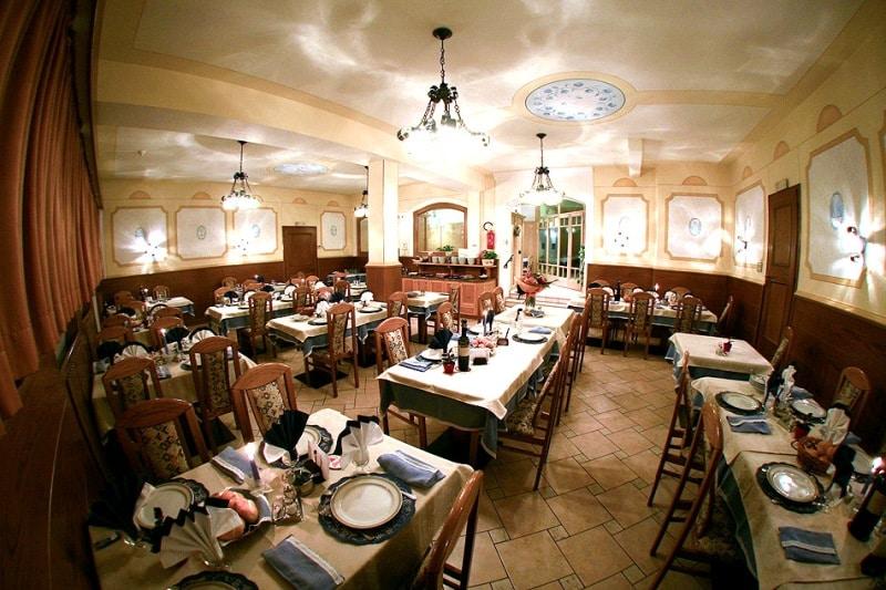 Hotel in Val di Fiemme per famiglie, Hotel La Montanara, ristorante