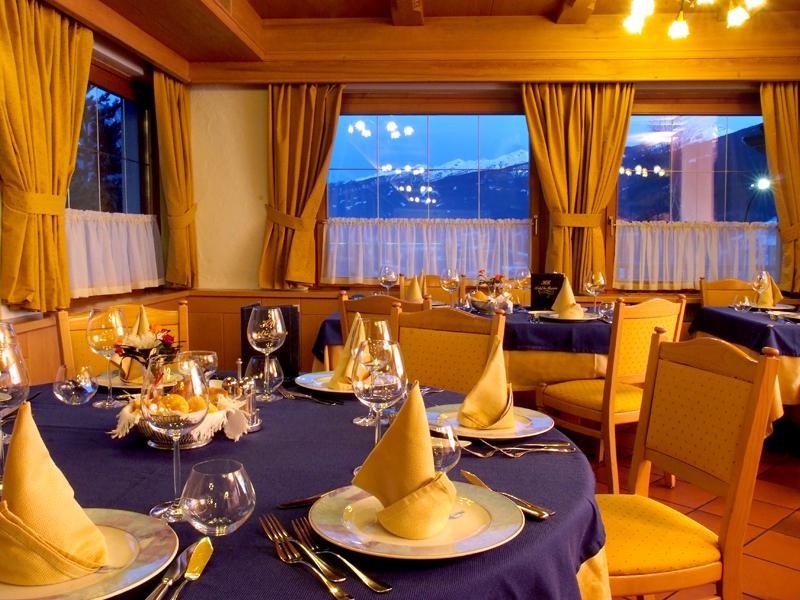 Hotel La Roccia Trentino, Val di Fiemme, ristorante